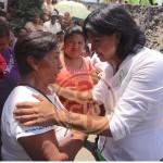 Desde el Congreso Federal traeré recursos para el rescate de espacios públicos: Elizabeth Morales